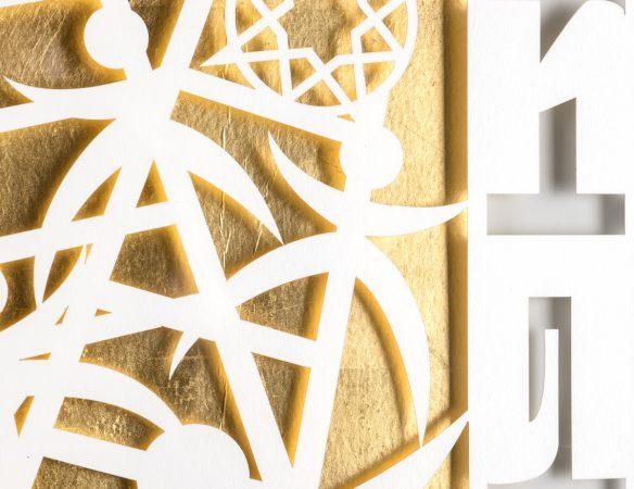 Gold Leaf Closeup
