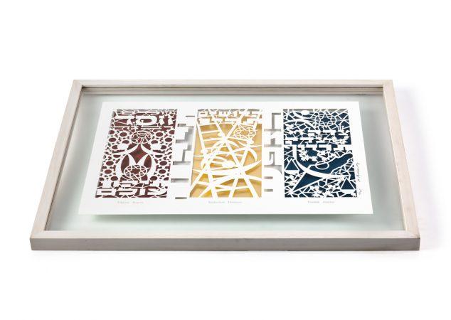 Papercut Framed 2