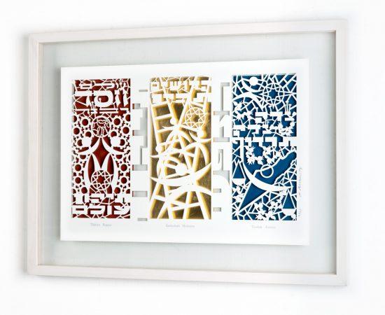 Papercut Framed 3